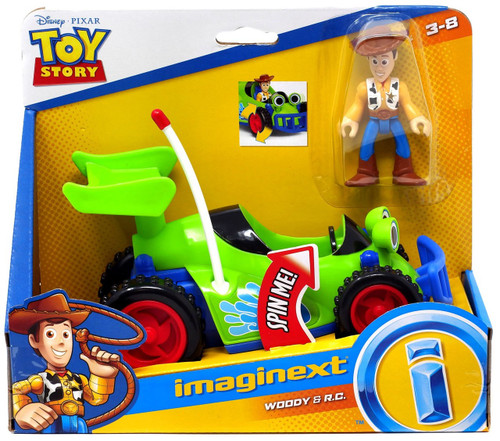 Fisher Price Disney / Pixar Imaginext Toy Story Woody & R.C. Vehicle & Figure