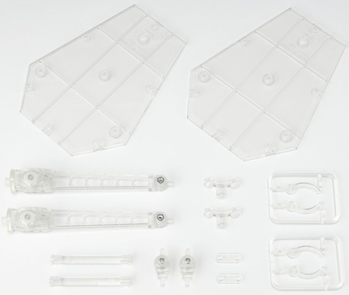 Tamashii Stage Act Act. 5 for Mechanics Support Stands [Clear]