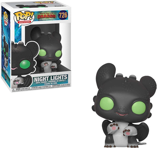 Funko How to Train Your Dragon The Hidden World POP! Movies Night Lights Vinyl Figure #726 [Allison, Black, Green Eyes]