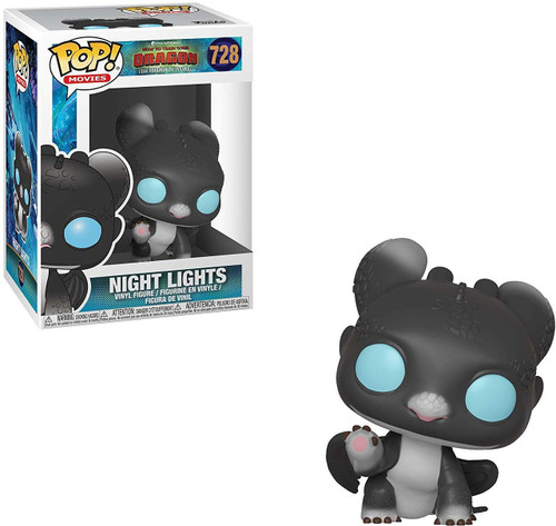 Funko How to Train Your Dragon The Hidden World POP! Movies Night Lights Vinyl Figure #728 [Sherece, Black, Blue Eyes]