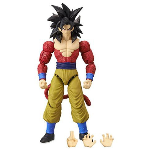Dragon Ball Super Dragon Stars Series 9 Super Saiyan 4 Son Goku Action Figure [Build-a-Figure]