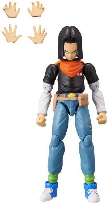 Dragon Ball Super Dragon Stars Series 10 Android 17 Action Figure [Build-a-Figure]