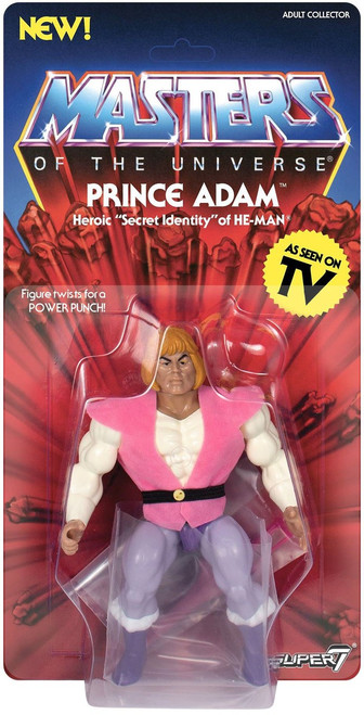 Masters of the Universe Vintage Series 3 Prince Adam Action Figure