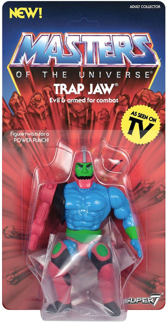 Masters of the Universe Vintage Series 3 Trap Jaw Action Figure