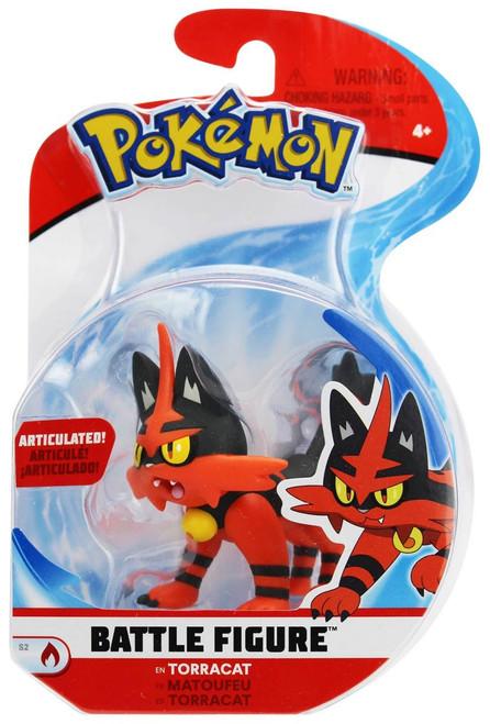 Pokemon Series 2 Battle Figure Torracat 3-Inch Figure