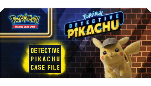 Pokemon Trading Card Game Detective Pikachu Mewtwo-GX Case File Box [6 Booster Packs, Oversize & Promo Card!]