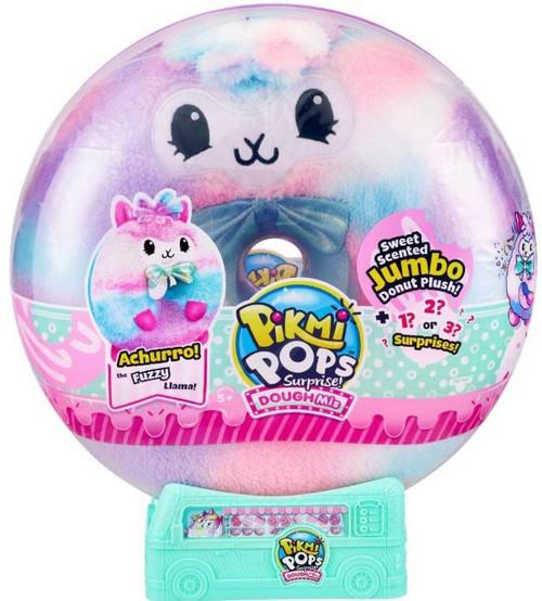 Pikmi Pops Surprise! Doughmi LARGE Achurro the Llama [Scented Jumbo Plush Donut]