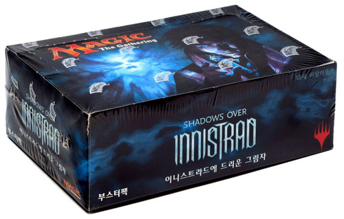 MtG Trading Card Game Shadows Over Innistrad Booster Box [Korean]
