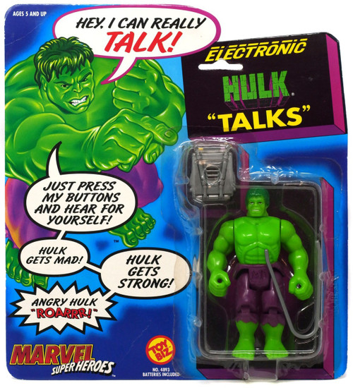 Marvel Super Heroes Hulk Action Figure [Talking]
