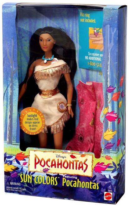 Disney Princess Sun Colors Pocahontas Doll