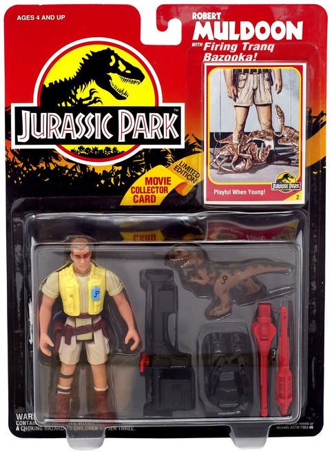 Jurassic Park Robert Muldoon Action Figure [Firing Tranq Bazooka]