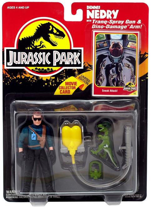 Jurassic Park Dennis Nedry Action Figure [Tranq-Spray Gun & Dino-Damage Arm]