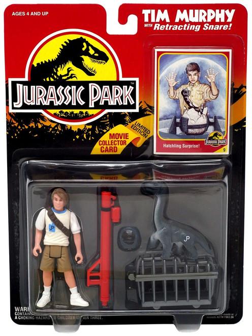 Jurassic Park Tim Murphy Action Figure [Retracting Snare]