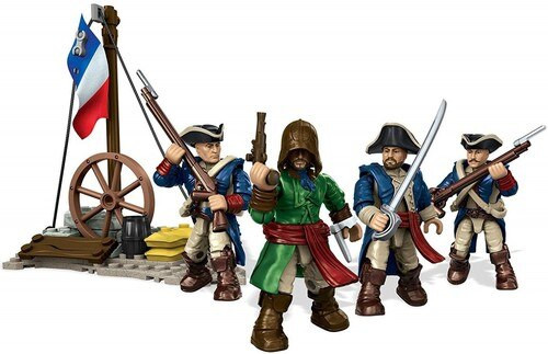 Mega Bloks Assassin's Creed French Revolution Pack Construction Set #38374 [Three Revolutionary Fighters]