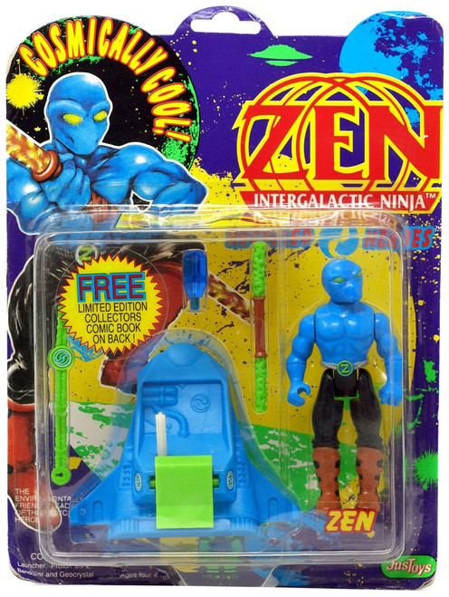 Zen Intergalactic Ninja Zen Action Figure [Moderate shelf wear]
