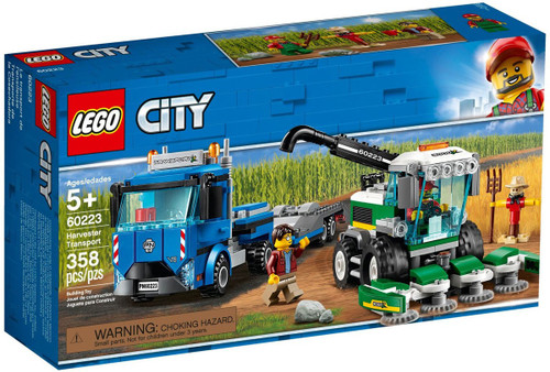 LEGO City Harvester Transport Set #60223