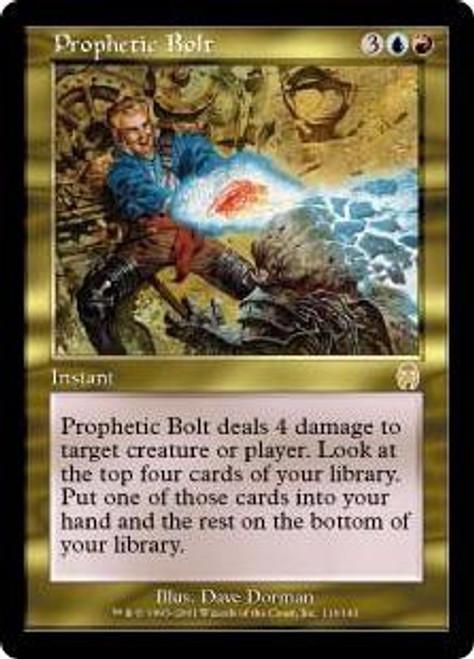 MtG Apocalypse Rare Foil Prophetic Bolt #116