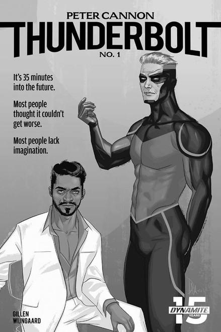 Dynamite Entertainment Peter Cannon Thunderbolt #1 Comic Book [McCaig Black & White Variant]