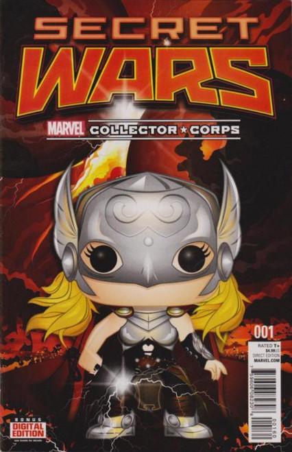 Funko Marvel Collector Corps Secret Wars #1 Comic Book