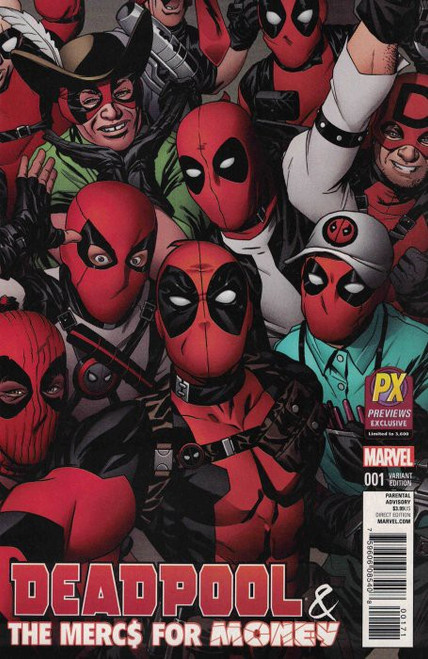 Deadpool Deapool & The Mercs for Money #1 Previews Exclusive Variant Comic Book