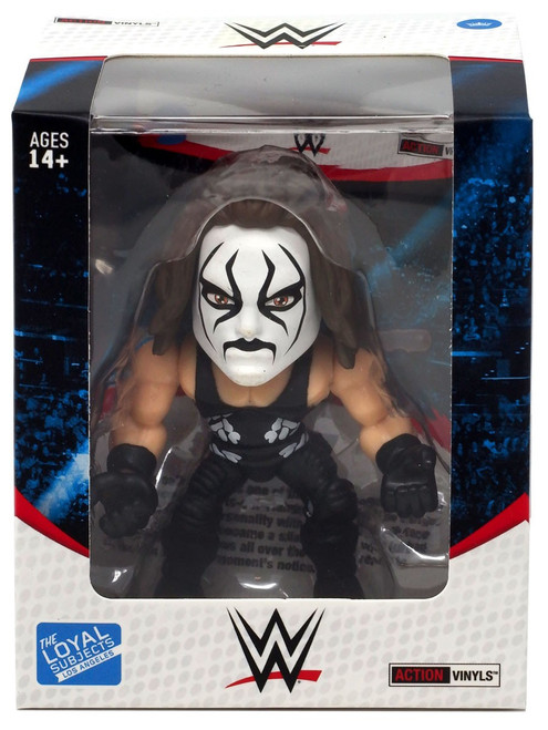 WWE Wrestling Action Vinyls Sting Vinyl Figure