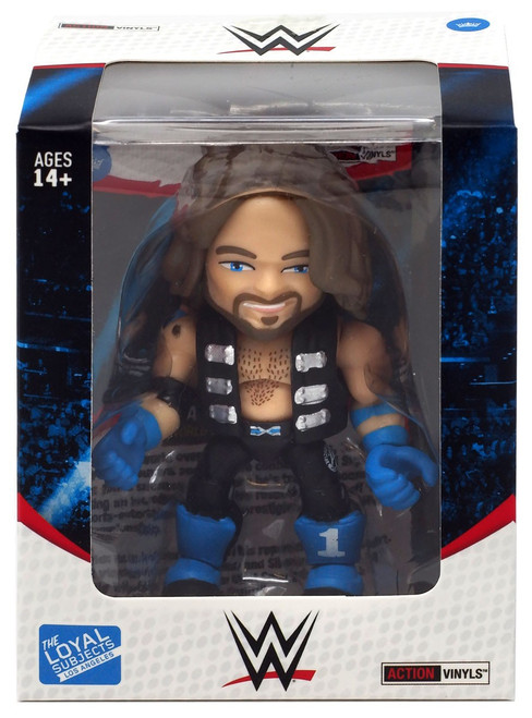 WWE Wrestling Action Vinyls AJ Styles Vinyl Figure