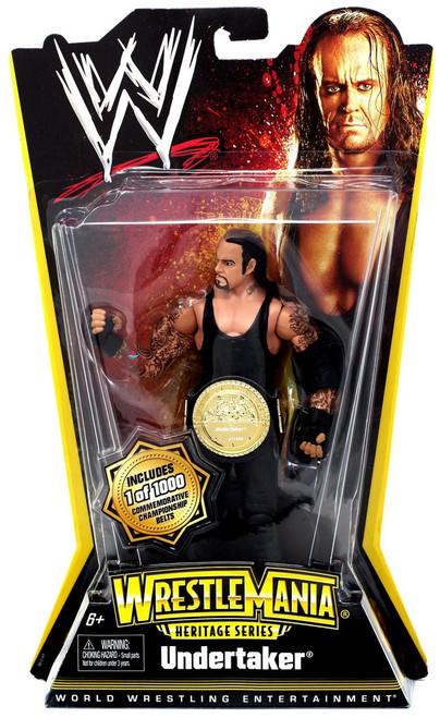 WWE Wrestling WrestleMania Heritage Series 1 Undertaker Action Figure [Championship Belt]