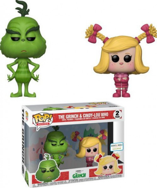 Funko Dr. Seuss POP! Movies The Grinch & Cindy-Lou Who Exclusive Vinyl Figure 2-Pack