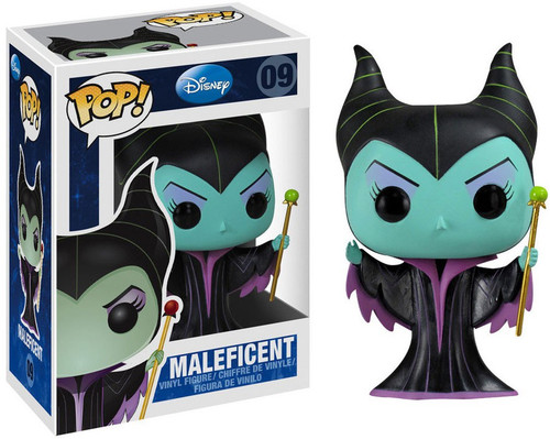 Funko Sleeping Beauty POP! Disney Maleficent Vinyl Figure #09 [Sleeping Beauty, Damaged Package]