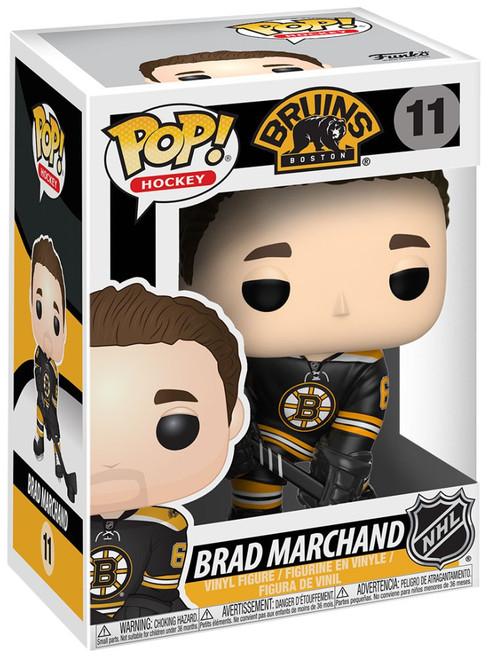 Funko NHL Boston Bruins POP! Sports Hockey Brad Marchand Vinyl Figure #11