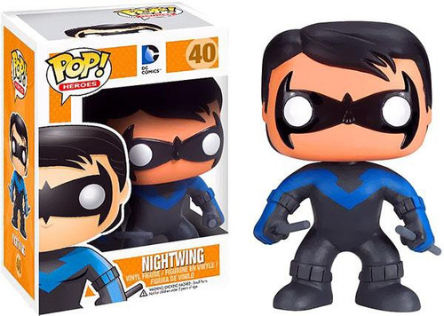 Funko DC Comics POP! Heroes Nightwing Vinyl Figure #40 [Damaged Package]