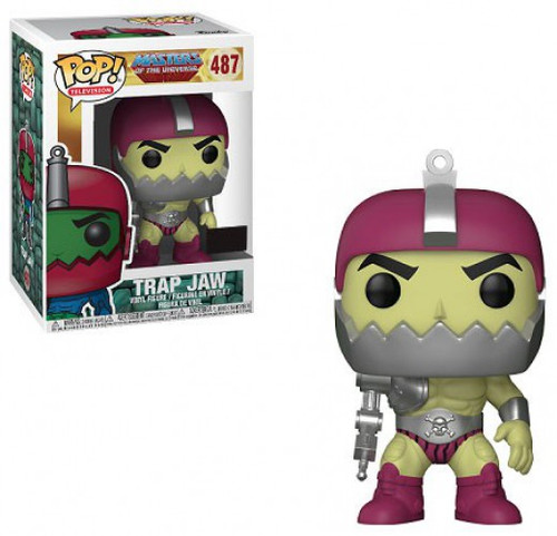 Funko Masters of the Universe POP! TV Trap Jaw Exclusive Vinyl Figure #487 [Metallic Armor, Light Green, Damaged Package]