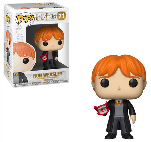 Funko Harry Potter POP! Movies Ron Weasley Vinyl Figure #71 [With Howler, Damaged Package]