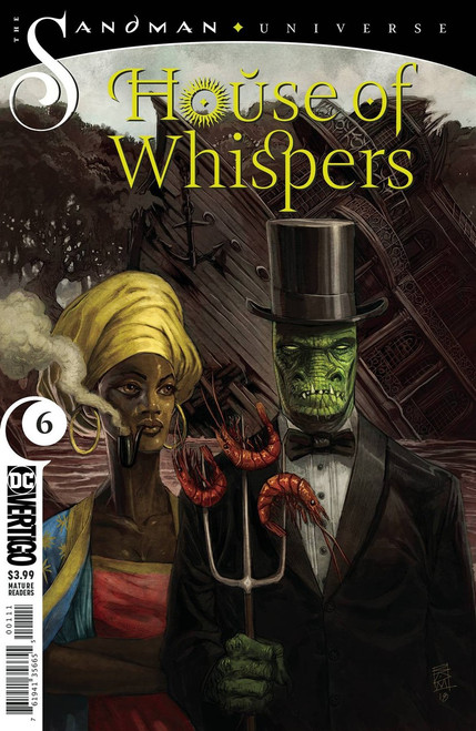 DC House of Whispers #6 The Sandman Universe Comic Book