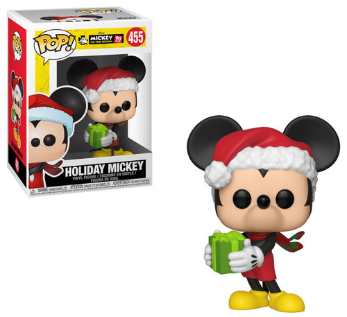 Funko Mickey's 90th POP! Disney Holiday Mickey Vinyl Figure #455 [Damaged Package]