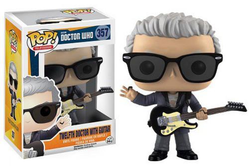 Funko Doctor Who POP! TV Twelfth Doctor With Guitar Vinyl Figure #357 [Damaged Package]