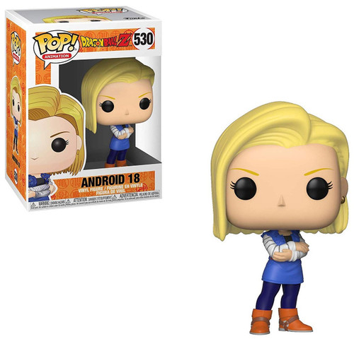 Funko Dragon Ball Z POP! Animation Android 18 Vinyl Figure #530 [Damaged Package]
