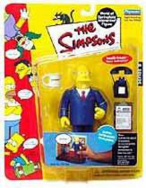The Simpsons Series 8 Superintendent Chalmers Action Figure