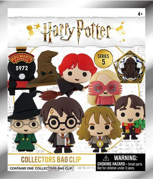 3D Figural Foam Bag Clip Harry Potter Series 5 Mystery Pack [1 RANDOM Figure]