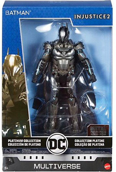 DC Injustice 2 Multiverse Platinum Collection Batman Action Figure