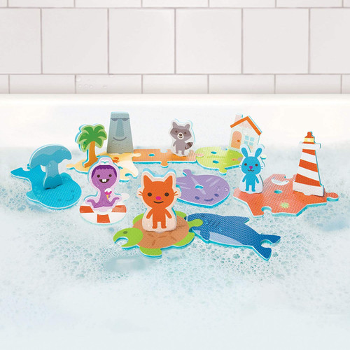 Sago Mini Aqua Puzzle Island Adventure Bath Game Bath Toy
