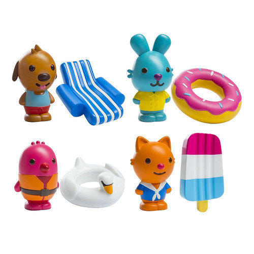 Sago Mini Squirters & Floaties Bath Toy Gift Pack