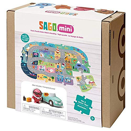 Sago Mini Robin's Roadtrip Puzzle Mats