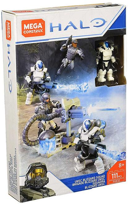 Halo UNSC Blizzard Squad Set [Cryo Marines]