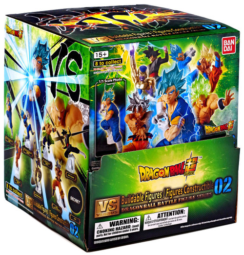 Dragon Ball Super Buildable Figure Series 2 Mystery Box [24 Packs]