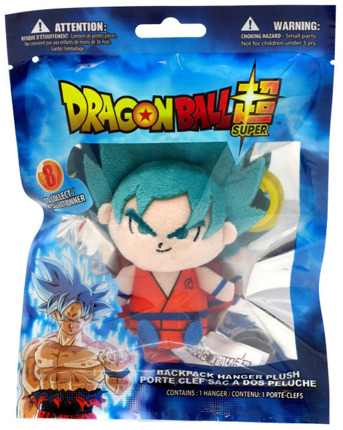 Dragon Ball Super Plush Hanger Super Saiyan Blue Goku 4-Inch