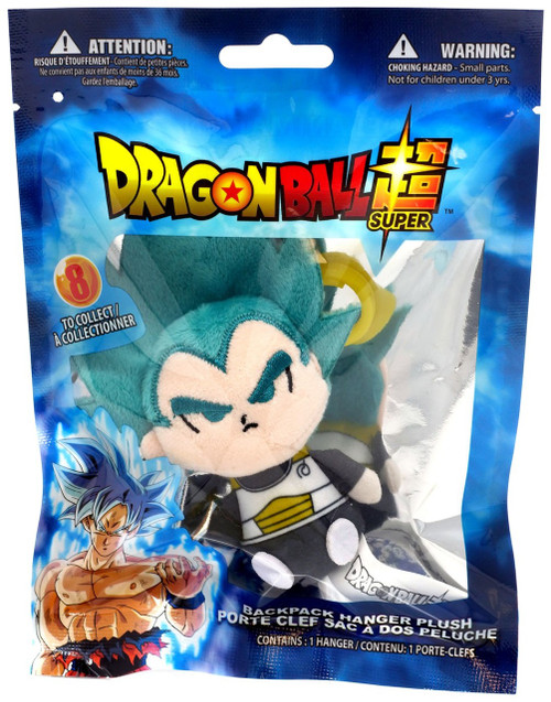 Dragon Ball Super Plush Hanger Super Saiyan Blue Vegeta 4-Inch