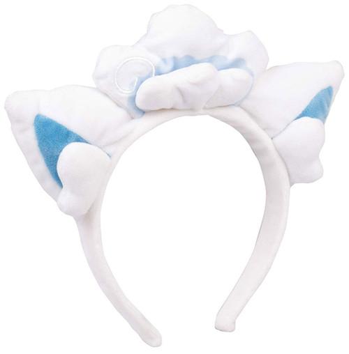 Pokemon Headband Plush Alolan Vulpix Headband