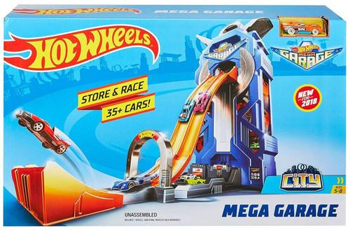 Hot Wheels City Mega Garage Diecast Car Playset