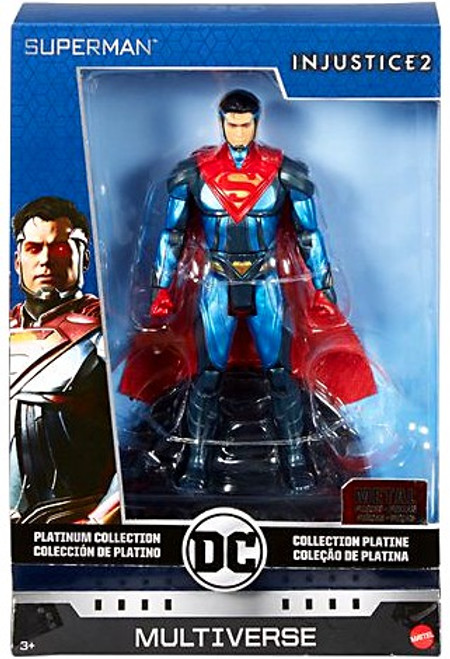 DC Injustice 2 Multiverse Platinum Collection Superman Action Figure